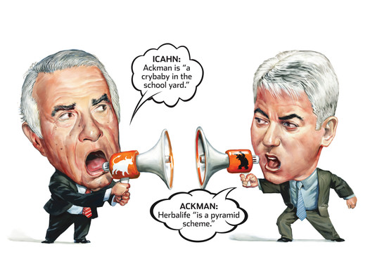 Carl Icahn and Bill Ackman - WSJ