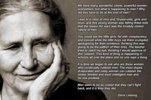Doris Lessing, on Men