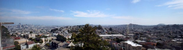 View from Upper Market SF House