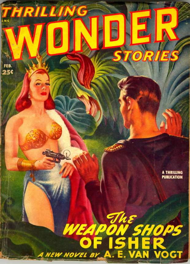 The Weapon Shops of Isher - Thrilling Wonder Stories