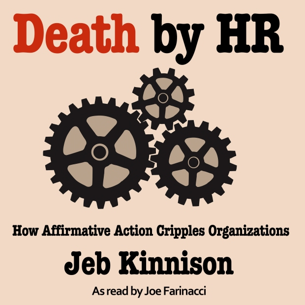 Death by HR Audiobook Cover